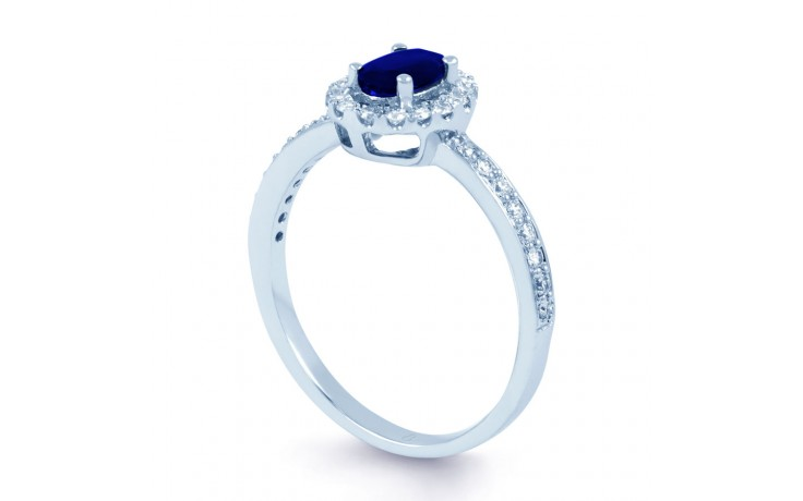 Allure Blue Sapphire Ring product image 2