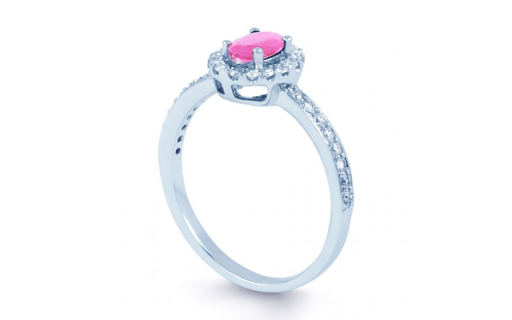 Allure Pink Sapphire Ring product image 2