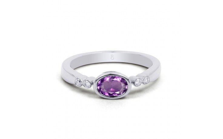 Vintage Amethyst Birthstone Ring product image 1