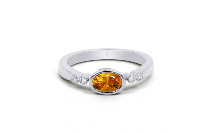 Citrine Vintage Birthstone Ring  product image 1