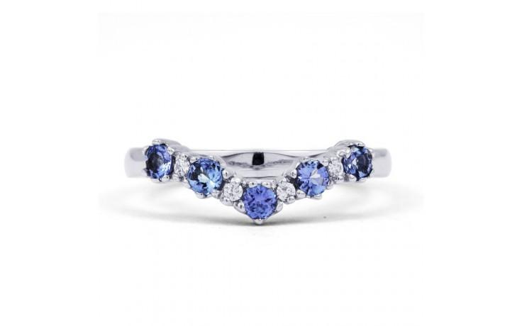 Tanzanite Wishbone Ring product image 1