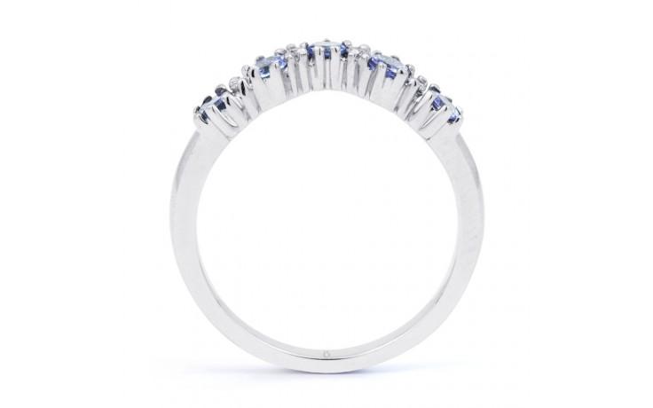 Tanzanite Wishbone Ring product image 3