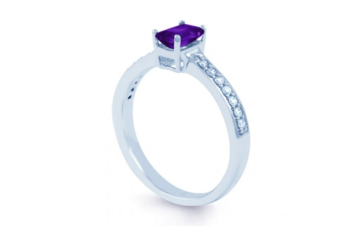Vintage Amethyst Engagement Ring  product image 2