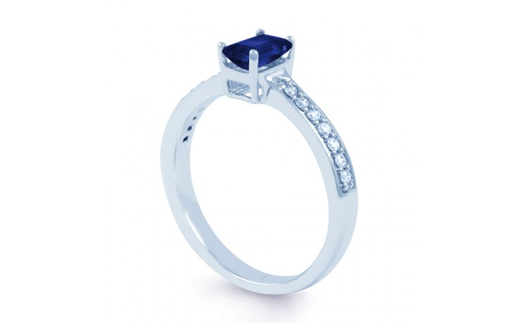 Vintage Sapphire Engagement Ring  product image 2
