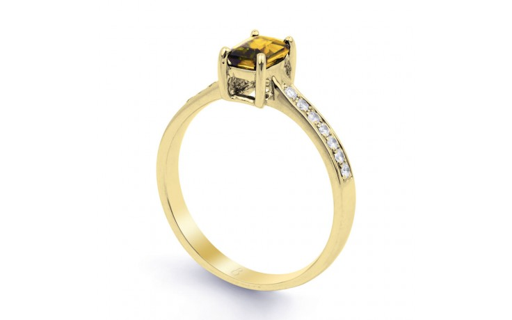 Vintage Citrine Yellow Gold Ring product image 2