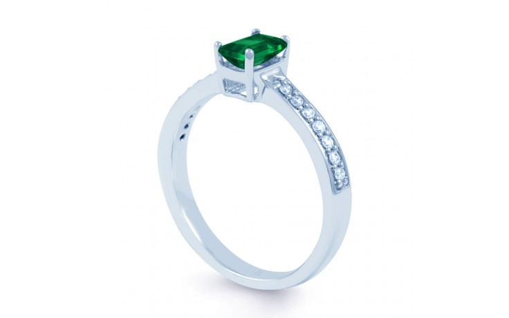 Emerald Octagon Ring  product image 2