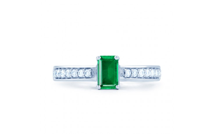Emerald Octagon Ring  product image 1