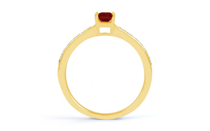 Ruby Gold Engagement Ring product image 3