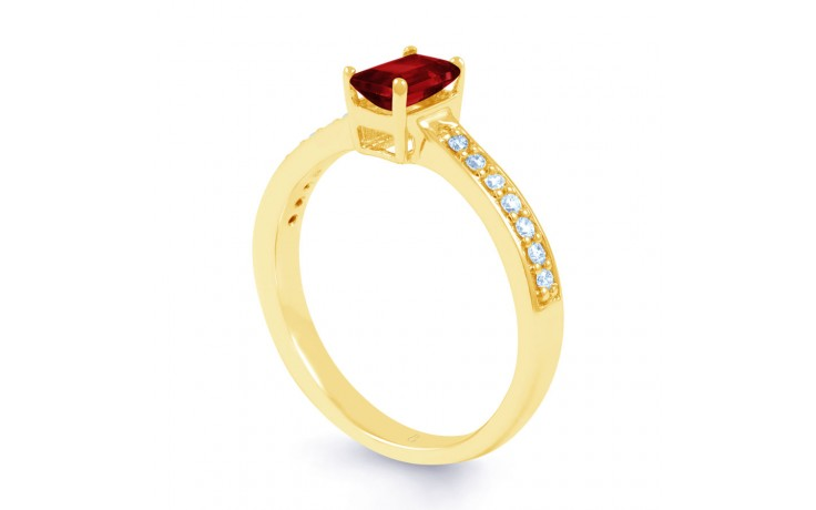 Ruby Gold Engagement Ring product image 2