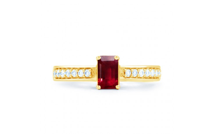 Ruby Gold Engagement Ring product image 1