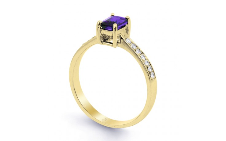 Vintage Tanzanite Gold Ring product image 2