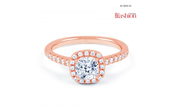 Renee Engagement Ring in Rose Gold product image 1