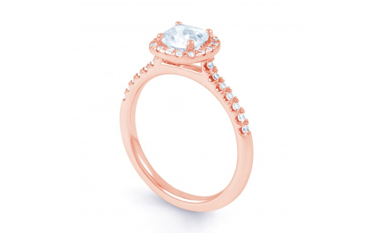 Renee Engagement Ring in Rose Gold product image 2