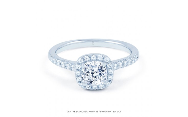 Renee Diamond Engagement Ring in White Gold product image 1