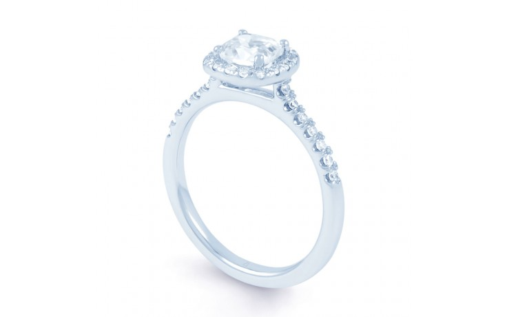 Renee Diamond Engagement Ring in White Gold product image 2