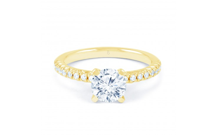 Eleonore Pave in Yellow Gold product image 1