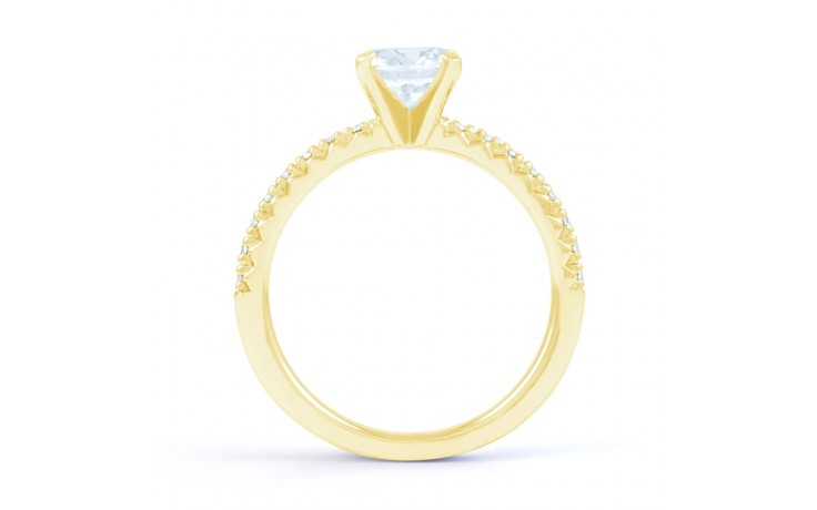 Eleonore Pave in Yellow Gold product image 3