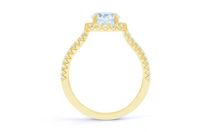 Renee Halo in Yellow Gold product image 3