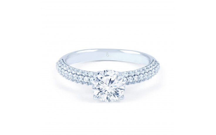 Alia Cluster Engagement Ring product image 1