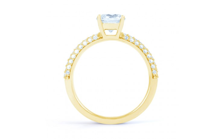 Alia Cluster Diamond Engagement Ring in Yellow Gold  product image 3