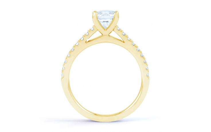 Alia Diamond Engagement Ring in Yellow Gold product image 3