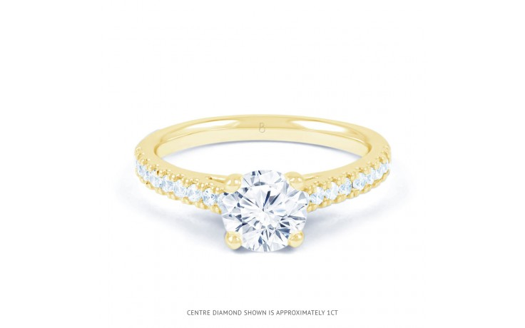 Alia Diamond Engagement Ring in Yellow Gold product image 1