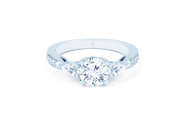 Lucia Pear Diamond Engagement Ring  product image 1