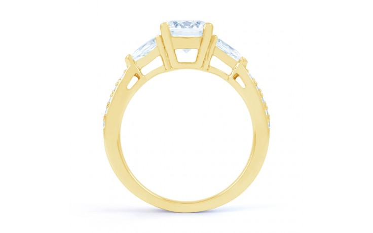 Lucia Pear Diamond Engagement Ring in Yellow Gold product image 3