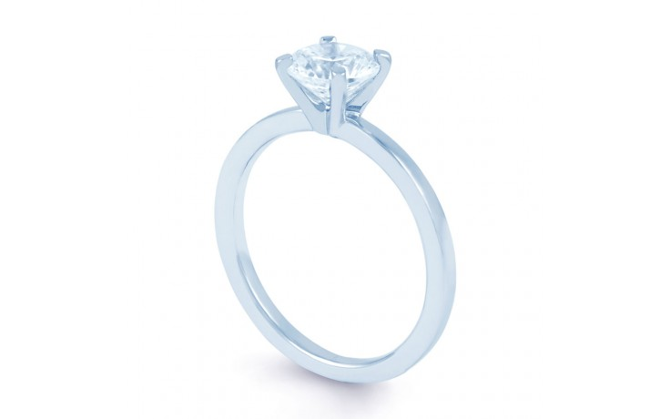 Esha Classic 4 Prong in White Gold  product image 2