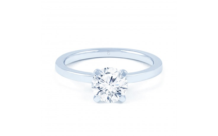 Esha Classic 4 Prong in White Gold  product image 1