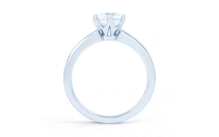 Esha Solitaire in White Gold  product image 3