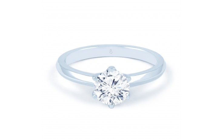 Esha Solitaire in White Gold  product image 1