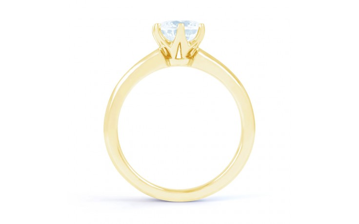 Esha Solitaire Diamond Engagement Ring in Yellow Gold  product image 3