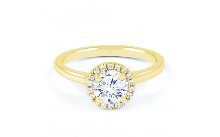 Renee Round Brilliant in Yellow Gold product image 1