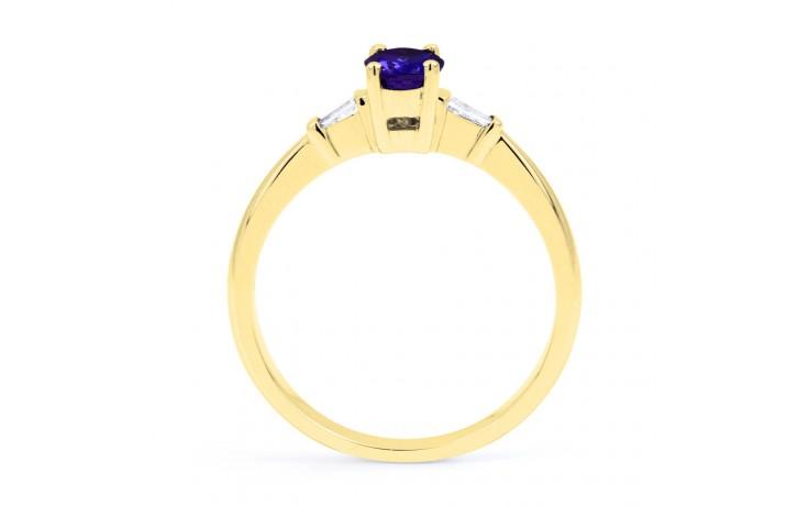 Etsuko Blue Sapphire Gold Ring  product image 3