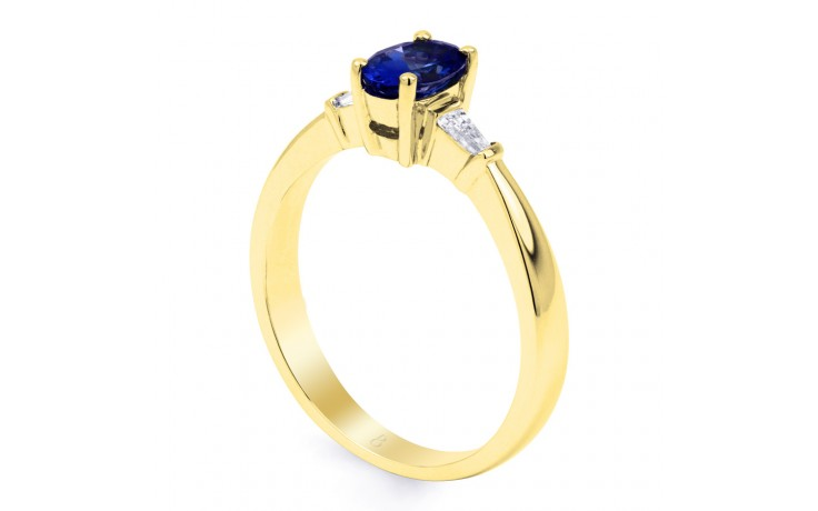 Etsuko Blue Sapphire Gold Ring  product image 2