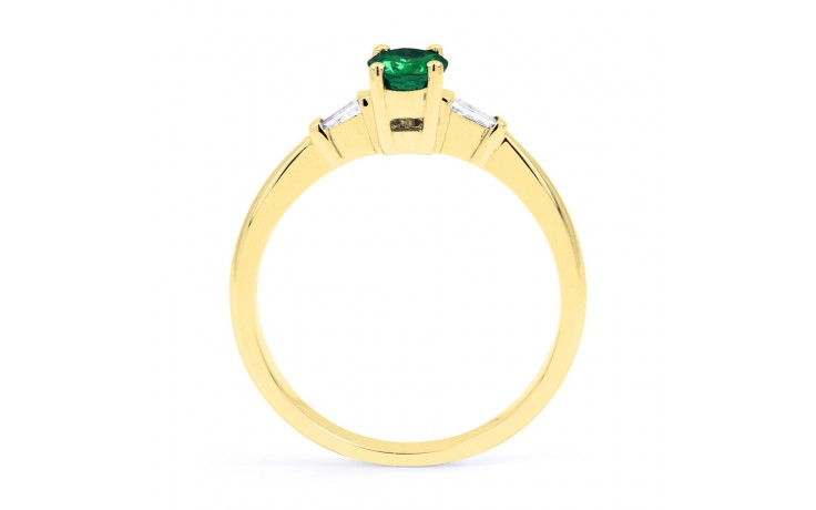 Etsuko Emerald Gold Ring  product image 3