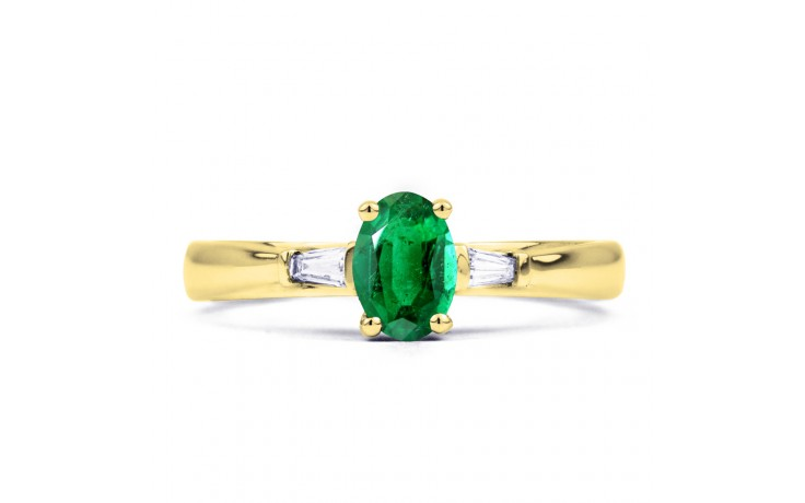 Etsuko Emerald Gold Ring  product image 1