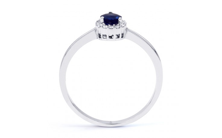 Aya Blue Sapphire Pear Ring product image 3