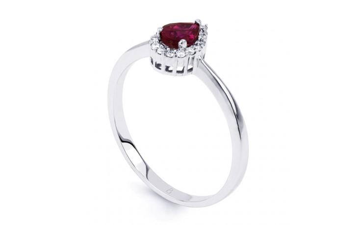 Aya Ruby Pear Ring product image 2