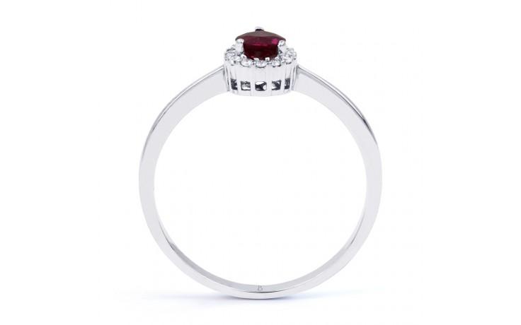 Aya Ruby Pear Ring product image 3