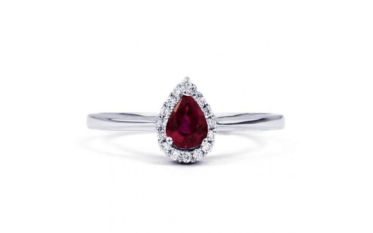 Aya Ruby Pear Ring product image 1