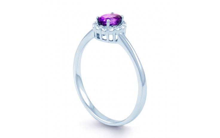 Aya Amethyst White Gold Ring  product image 2