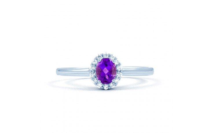 Aya Amethyst White Gold Ring  product image 1