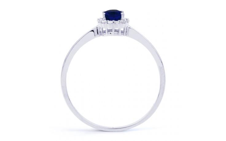 Aya Blue Sapphire and Diamond Ring product image 3