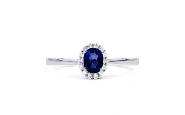 Aya Blue Sapphire and Diamond Ring product image 1