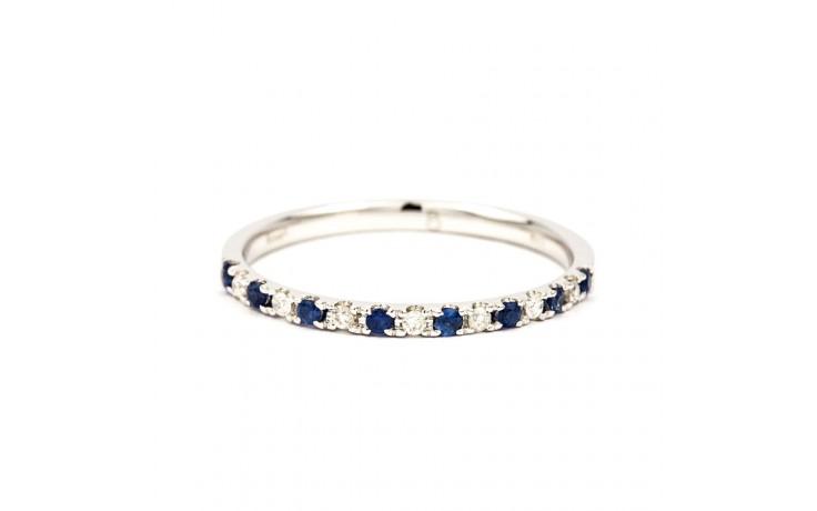 Larissa Blue Sapphire & Diamond Eternity Ring product image 1