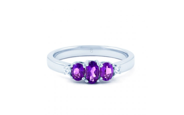 Amethyst Trilogy Ring product image 1