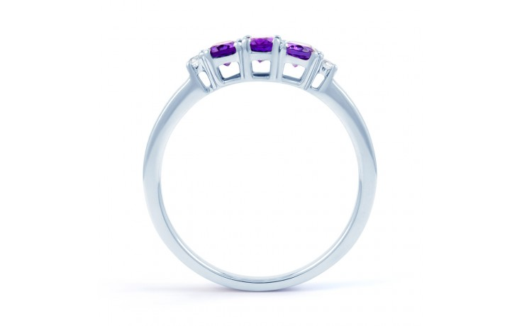 Amethyst Trilogy Ring product image 3