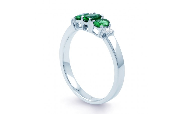 Emerald Trilogy Ring product image 2